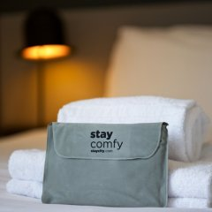 Отель Staycity Aparthotels Greenwich High Road сейф в номере