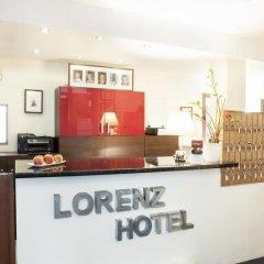 Отель Lorenz Hotel Zentral Германия, Нюрнберг - отзывы, цены и фото номеров - забронировать отель Lorenz Hotel Zentral онлайн интерьер отеля фото 2