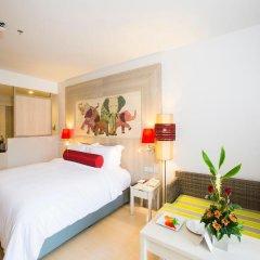 Отель Ramada by Wyndham Phuket Deevana Patong Стандартный номер с различными типами кроватей фото 4