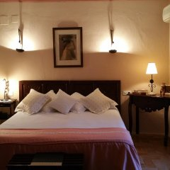 Отель Hacienda El Santiscal - Adults Only Улучшенный номер с различными типами кроватей