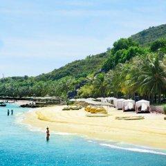 Отель MerPerle Hon Tam Resort пляж фото 2
