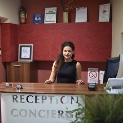 Отель Balkan Garni интерьер отеля фото 3