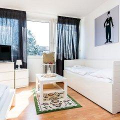 Апартаменты Apartment Höhenberg in Messenähe Кёльн комната для гостей фото 3