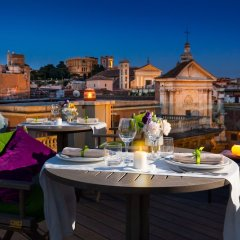 Отель Singer Palace Hotel Италия, Рим - отзывы, цены и фото номеров - забронировать отель Singer Palace Hotel онлайн питание фото 3