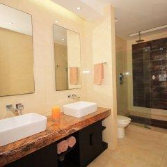 Отель Downtown Apartment Oasis 12 Мексика, Плая-дель-Кармен - отзывы, цены и фото номеров - забронировать отель Downtown Apartment Oasis 12 онлайн ванная фото 2
