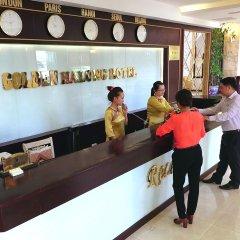 Отель Golden Halong Hotel Вьетнам, Халонг - отзывы, цены и фото номеров - забронировать отель Golden Halong Hotel онлайн интерьер отеля фото 2
