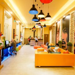 Full Moon Design Hostel Budapest интерьер отеля
