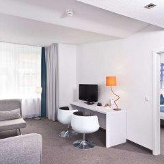 Отель Wyndham Garden Düsseldorf City Centre Königsallee Германия, Дюссельдорф - отзывы, цены и фото номеров - забронировать отель Wyndham Garden Düsseldorf City Centre Königsallee онлайн комната для гостей фото 4