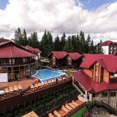 Гостиница Gorgany балкон