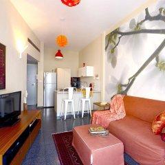 King George 83 Vacation apartments Израиль, Тель-Авив - 2 отзыва об отеле, цены и фото номеров - забронировать отель King George 83 Vacation apartments онлайн комната для гостей фото 3