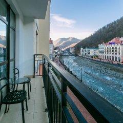Гостиница Парк Инн от Рэдиссон Роза Хутор (Park Inn by Radisson Rosa Khutor) балкон