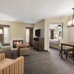 Отель Homewood Suites By Hilton Columbus-Hilliard Хиллиард комната для гостей фото 2