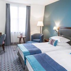 Отель Radisson Blu Hotel, Wroclaw Польша, Вроцлав - 1 отзыв об отеле, цены и фото номеров - забронировать отель Radisson Blu Hotel, Wroclaw онлайн комната для гостей фото 4