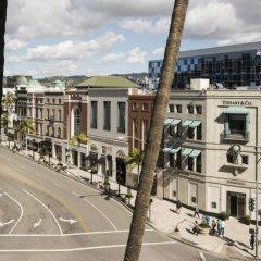 Отель Beverly Wilshire, A Four Seasons Hotel США, Беверли Хиллс - отзывы, цены и фото номеров - забронировать отель Beverly Wilshire, A Four Seasons Hotel онлайн балкон