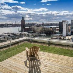 Отель Scandic Continental Стокгольм приотельная территория