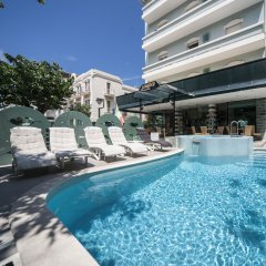 Hotel Levante Римини бассейн фото 2