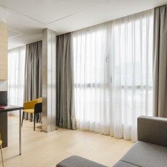 Отель Exe Plaza Catalunya комната для гостей фото 4