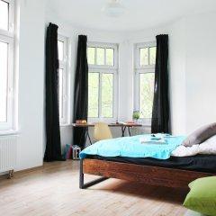 Отель Green Residence Leipzig Германия, Зюдфорштадт - отзывы, цены и фото номеров - забронировать отель Green Residence Leipzig онлайн комната для гостей фото 5