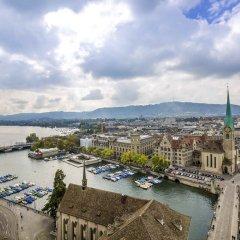 Отель ibis Zurich City West балкон