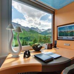 Tschuggen Grand Hotel Arosa удобства в номере