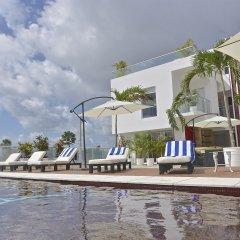 Отель Cache Hotel Boutique - Только для взрослых Мексика, Плая-дель-Кармен - отзывы, цены и фото номеров - забронировать отель Cache Hotel Boutique - Только для взрослых онлайн пляж фото 2