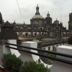 Hostel Mundo Joven Catedral Мехико балкон