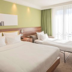 Отель Hampton By Hilton Nuremberg City Centre Нюрнберг комната для гостей