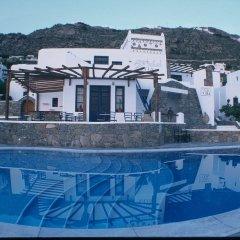 Отель Olia Hotel Греция, Турлос - 1 отзыв об отеле, цены и фото номеров - забронировать отель Olia Hotel онлайн бассейн фото 2