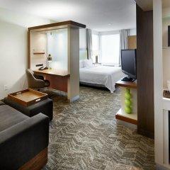 Отель SpringHill Suites by Marriott Columbus OSU комната для гостей фото 5