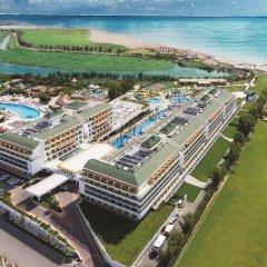 Port Nature Luxury Resort Hotel & Spa Богазкент пляж фото 2