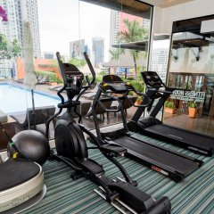 Отель The Grand Sathorn Таиланд, Бангкок - отзывы, цены и фото номеров - забронировать отель The Grand Sathorn онлайн фитнесс-зал фото 2