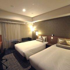Отель UNIZO Tokyo Ginza-nanachome Япония, Токио - отзывы, цены и фото номеров - забронировать отель UNIZO Tokyo Ginza-nanachome онлайн комната для гостей фото 3
