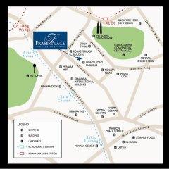 Отель Fraser Place Kuala Lumpur Малайзия, Куала-Лумпур - 2 отзыва об отеле, цены и фото номеров - забронировать отель Fraser Place Kuala Lumpur онлайн городской автобус