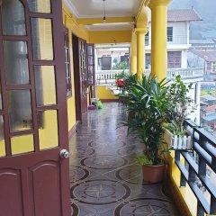 Отель OYO 836 Mangcay House Шапа балкон