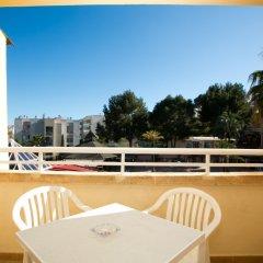Отель Aparthotel Cabau Aquasol Испания, Пальманова - 1 отзыв об отеле, цены и фото номеров - забронировать отель Aparthotel Cabau Aquasol онлайн балкон
