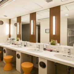Отель First Cabin Akasaka Япония, Токио - отзывы, цены и фото номеров - забронировать отель First Cabin Akasaka онлайн ванная