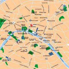 Отель Le Pera Париж городской автобус