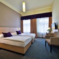 Отель Atlantic Hotel Чехия, Прага - 11 отзывов об отеле, цены и фото номеров - забронировать отель Atlantic Hotel онлайн комната для гостей фото 4