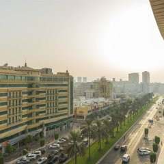 Отель Coral Deira Дубай балкон