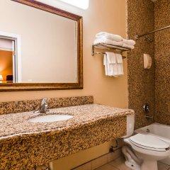 Отель Americas Best Value Inn-South Gate Downey США, Южные ворота - отзывы, цены и фото номеров - забронировать отель Americas Best Value Inn-South Gate Downey онлайн ванная фото 2