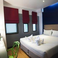 Отель Cloud Nine Lodge Бангкок комната для гостей фото 5
