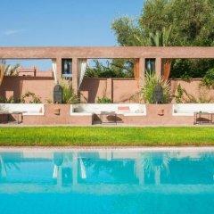 Отель Dar Chamaa Марокко, Уарзазат - отзывы, цены и фото номеров - забронировать отель Dar Chamaa онлайн бассейн фото 3