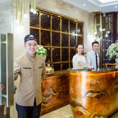 Отель Golden Lotus Hotel Вьетнам, Ханой - отзывы, цены и фото номеров - забронировать отель Golden Lotus Hotel онлайн интерьер отеля фото 3