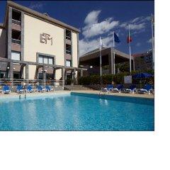 Отель Escola Португалия, Фуншал - отзывы, цены и фото номеров - забронировать отель Escola онлайн бассейн фото 2