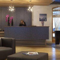 Отель Le Chalet du Mont Vallon Spa Resort интерьер отеля