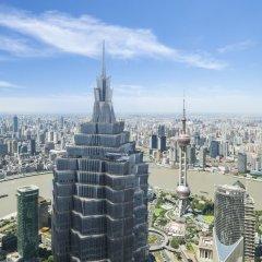 Отель Grand Hyatt Shanghai балкон