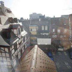 Отель am Jakobsmarkt Германия, Нюрнберг - отзывы, цены и фото номеров - забронировать отель am Jakobsmarkt онлайн балкон