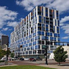 Отель SoBe Downtown Columbus Apartments США, Колумбус - отзывы, цены и фото номеров - забронировать отель SoBe Downtown Columbus Apartments онлайн вид на фасад фото 3