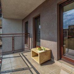 Отель Apartamenty Aparts Польша, Лодзь - отзывы, цены и фото номеров - забронировать отель Apartamenty Aparts онлайн балкон