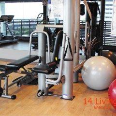 Отель 14 Living Бангкок фитнесс-зал